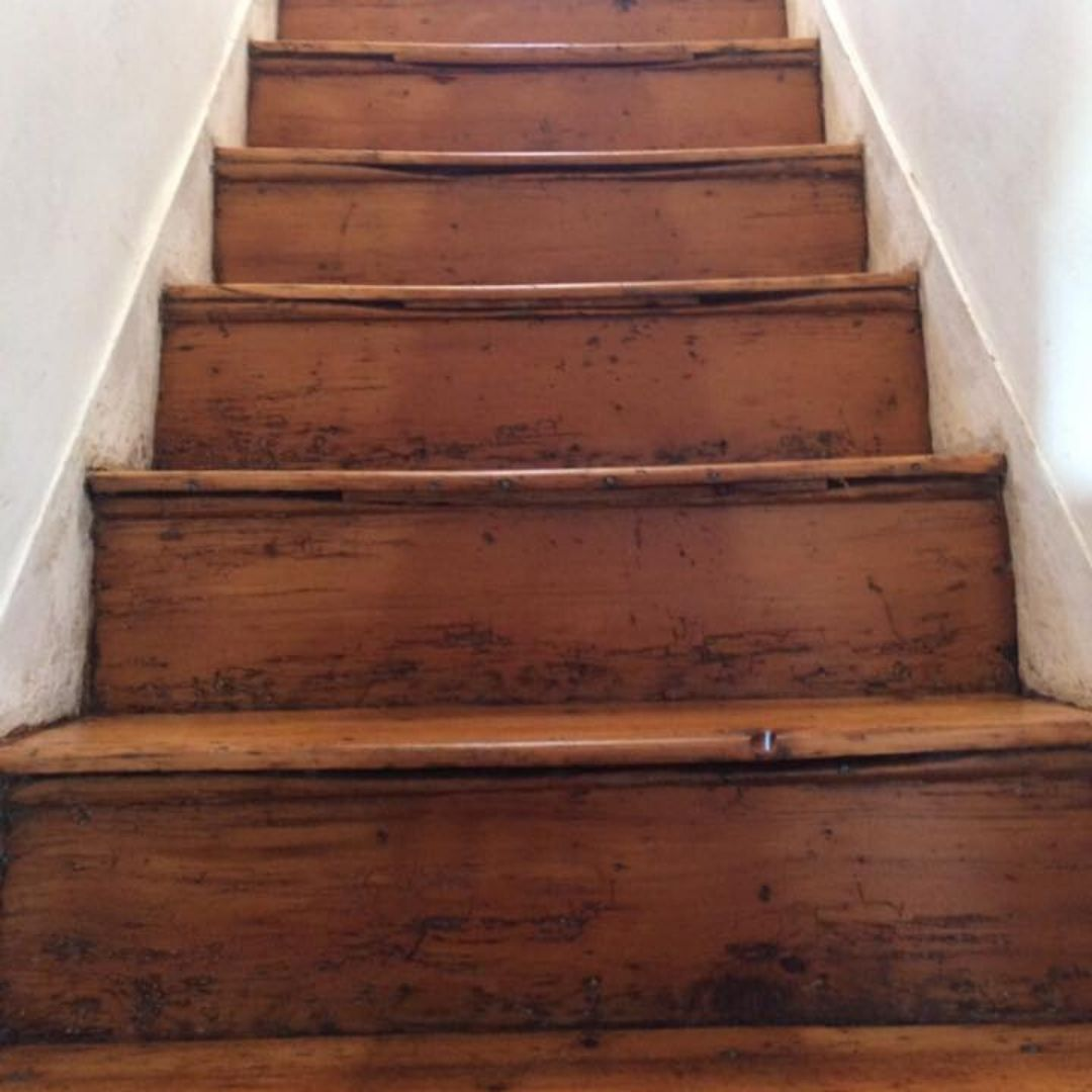 staircase transformation finish