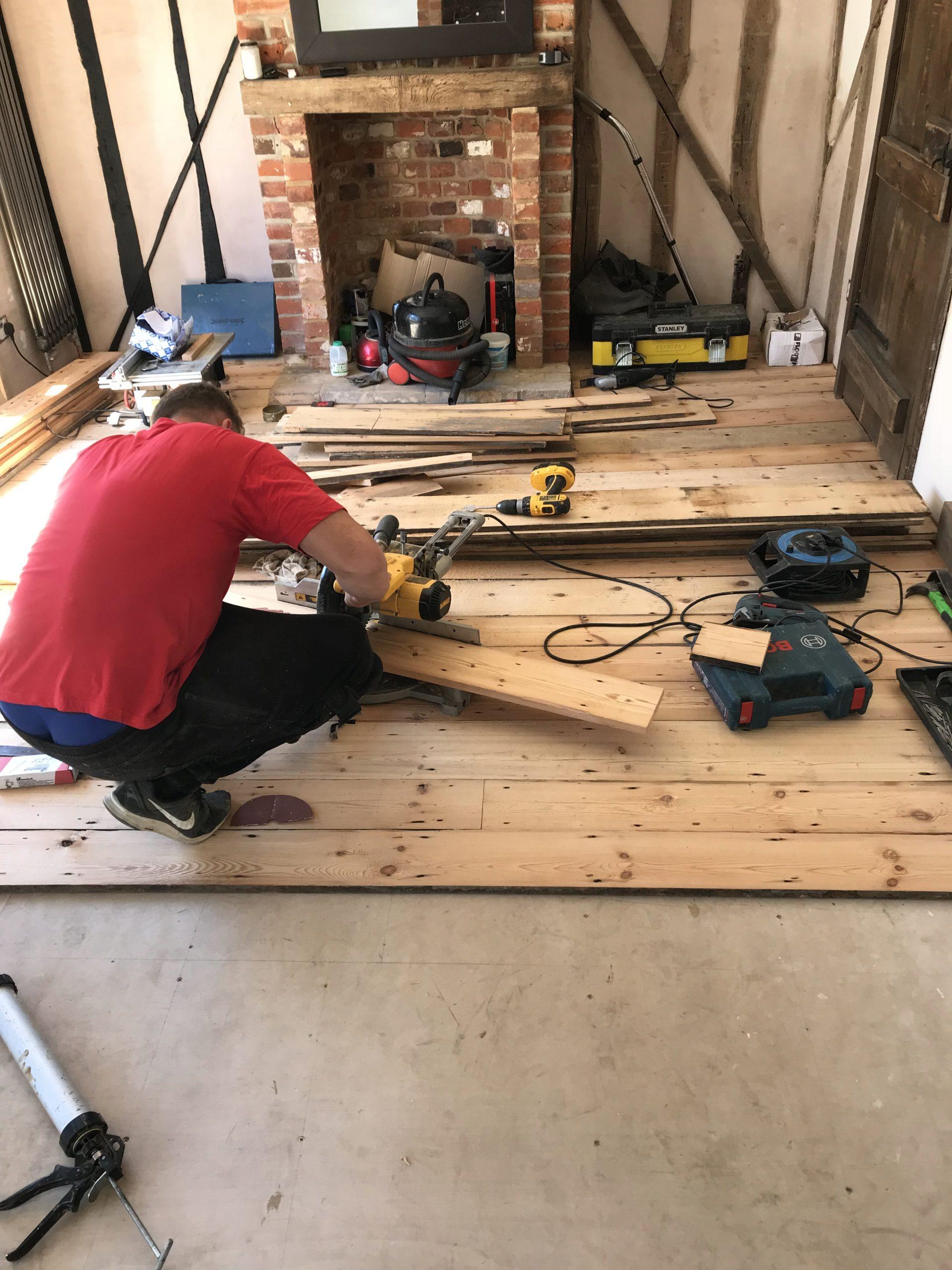 reclaimed wood floor 2