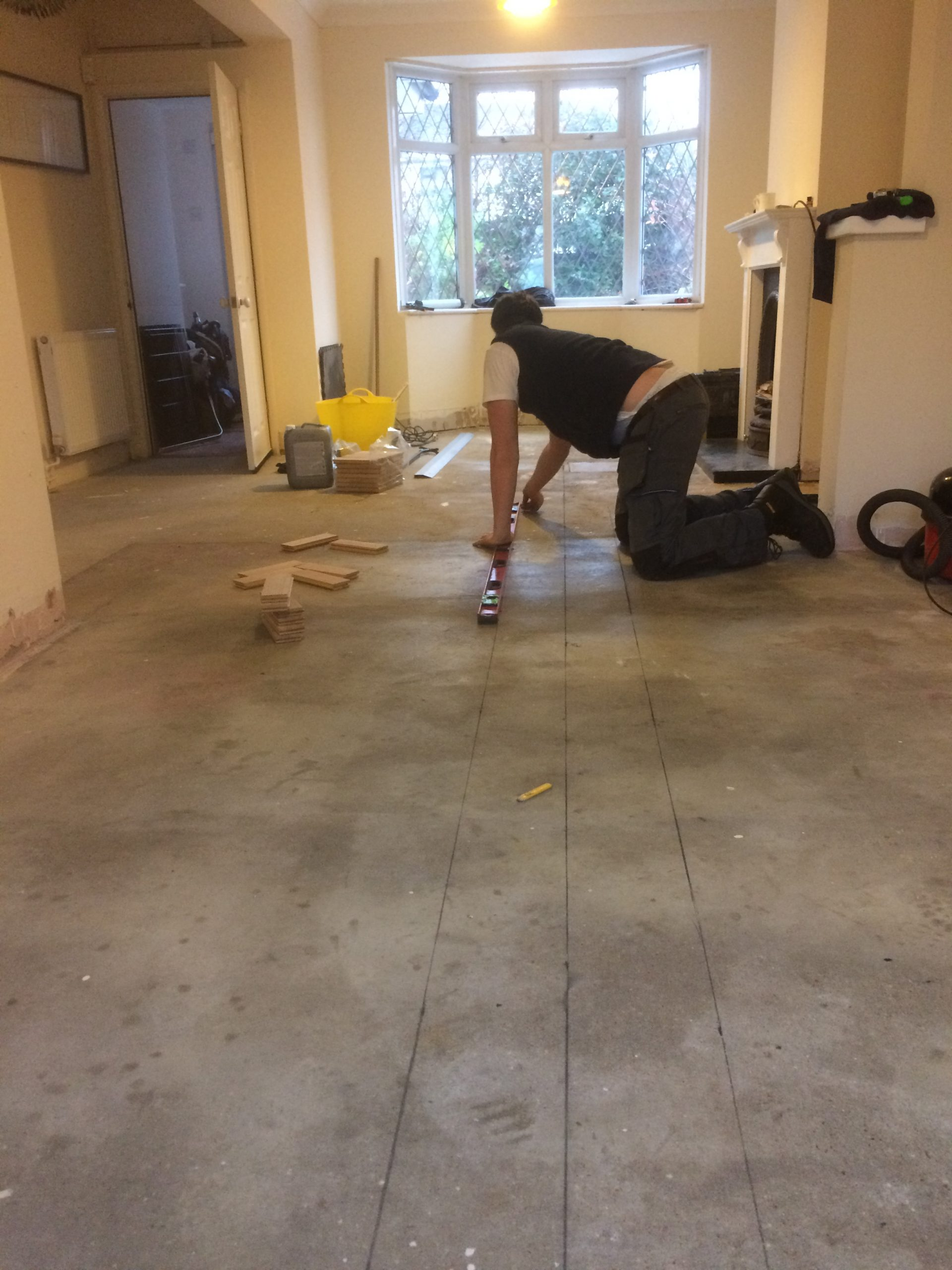 floor fitting parquet
