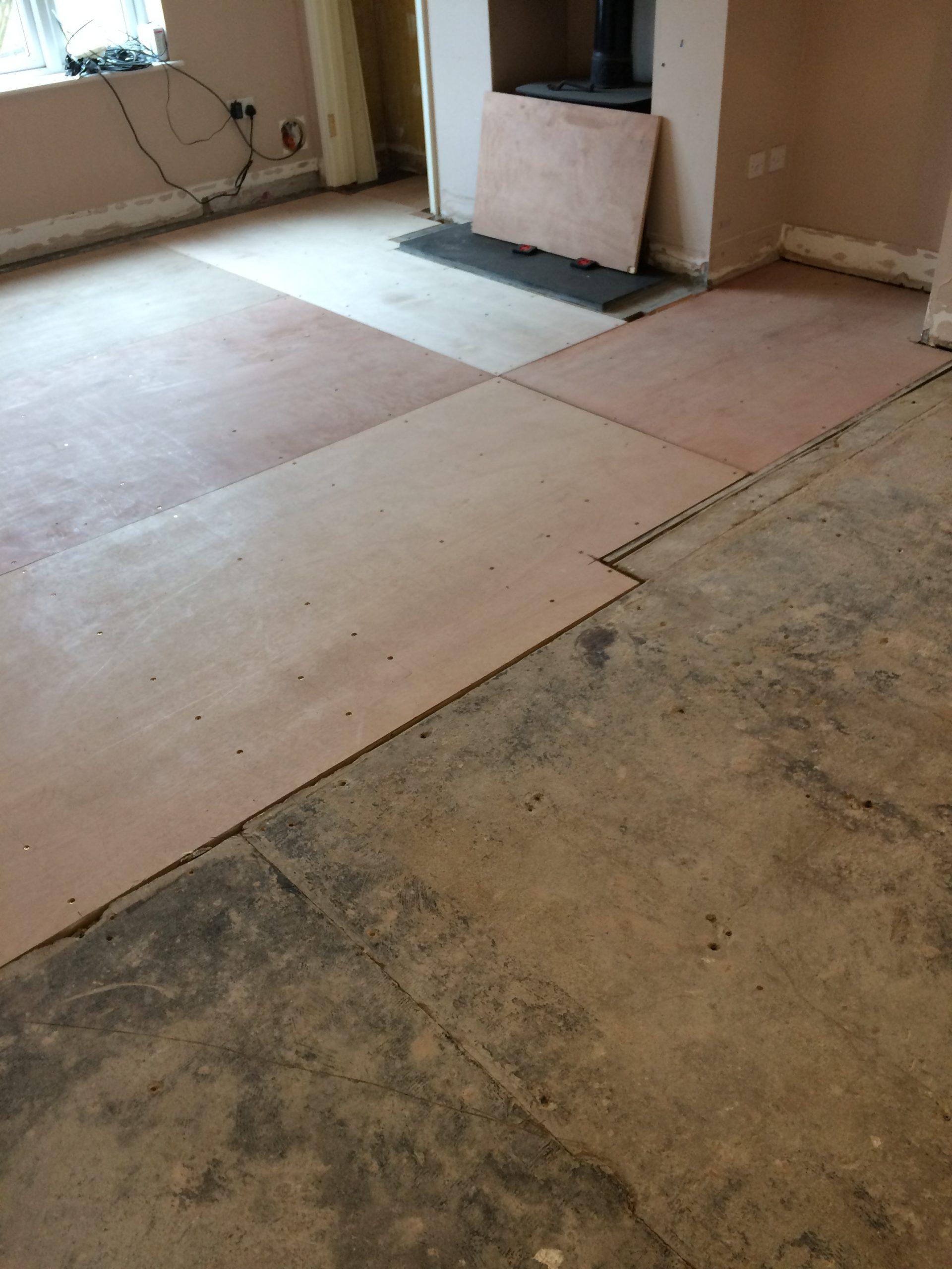 fitting engineered floor