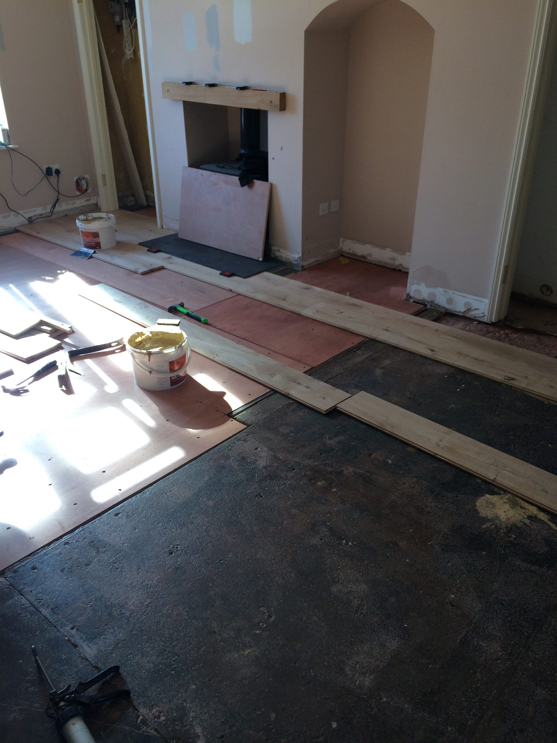 fitting engineered floor 2