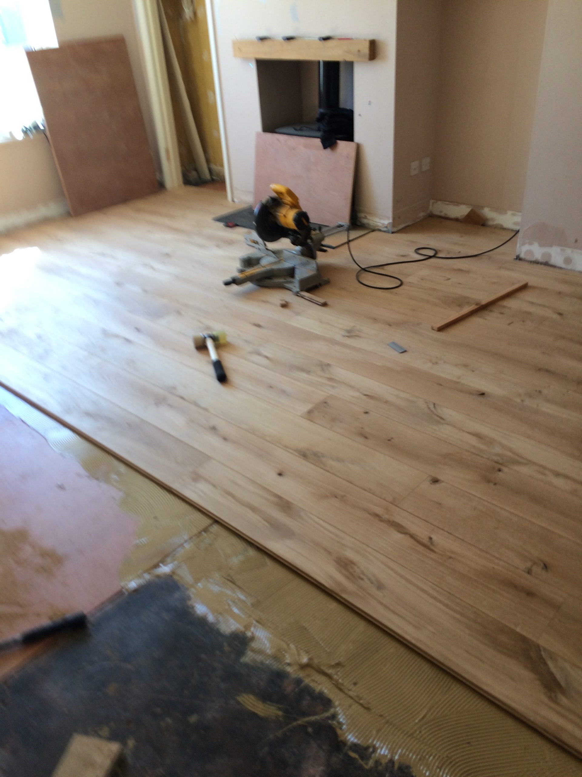 fitting engineered floor 3