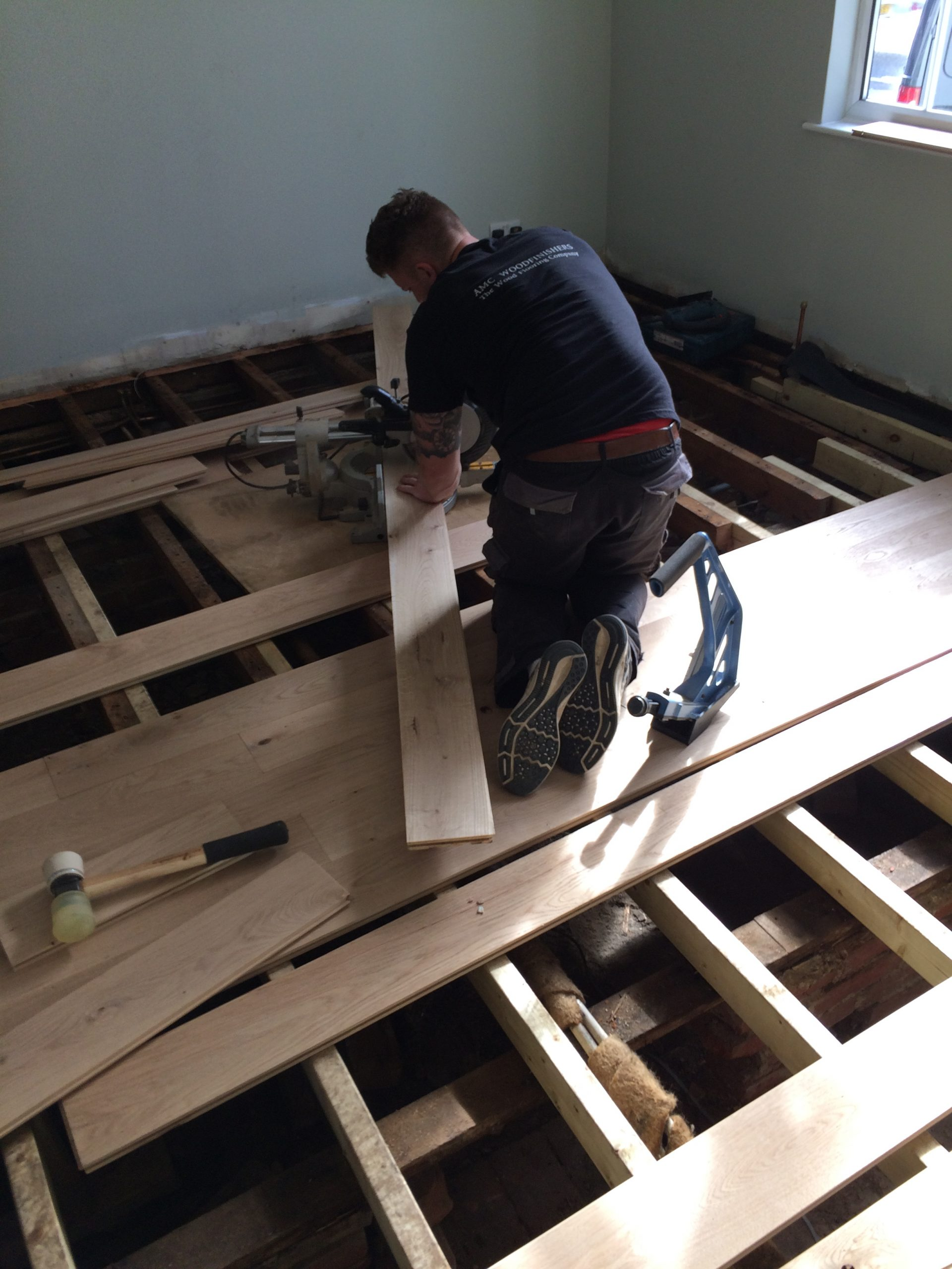 new boards fitted onto joists 2