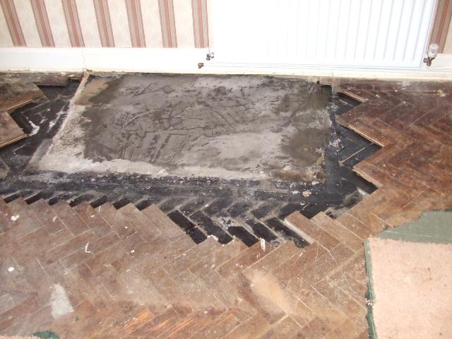 parquet fire place repairs