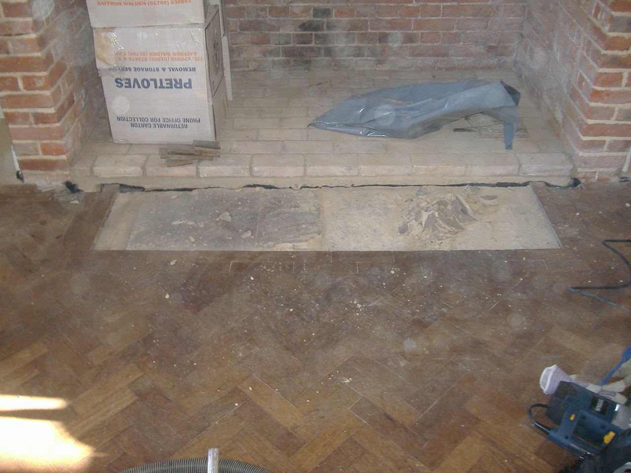 restoration of parquet floor